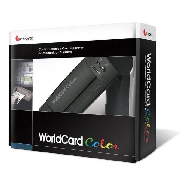 Business card reader & photo scanner