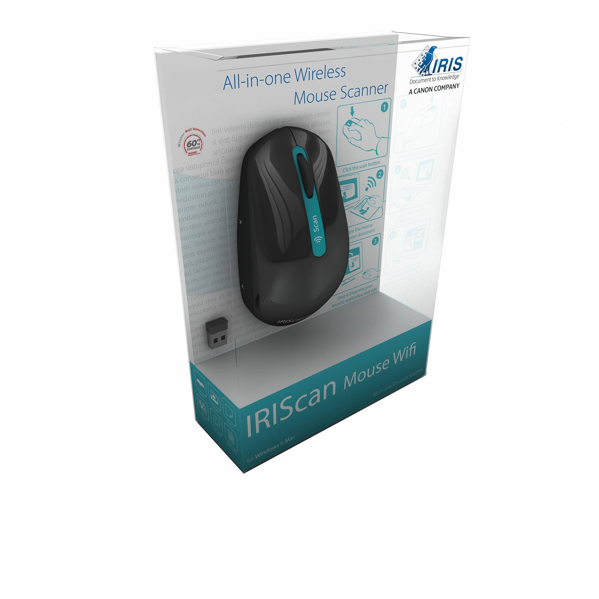 IRIScan Mouse - Scanner & Mouse