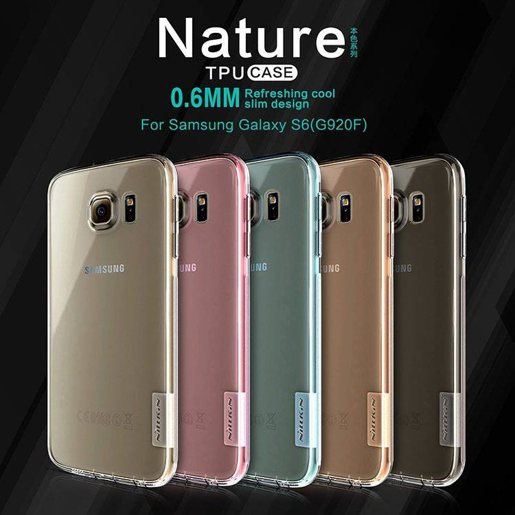 Nature TPU Case for Samsung S6